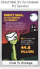 Direct Mail, It's So Undead It's Spooky!