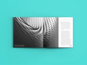 Architect spread in magazine