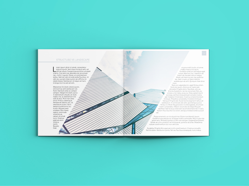 Cut out collage architecture magazine Design services