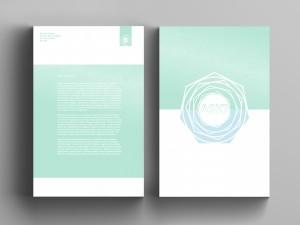 Modern Letter head & Logo Design Services Central Mailing Services