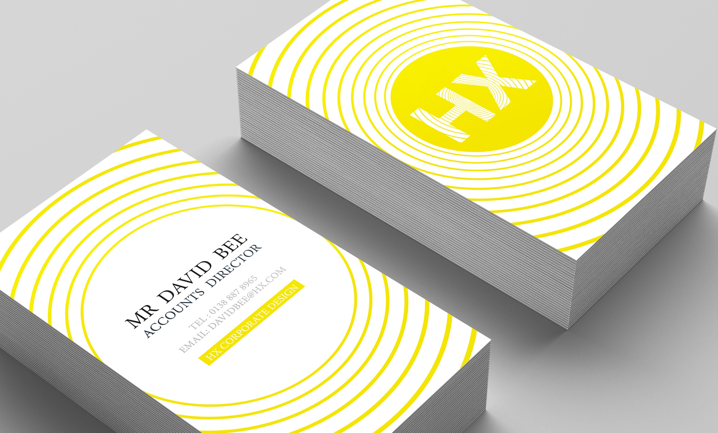 business card contemporary zoomed - Central Mailing Services