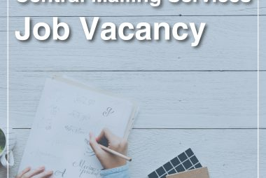 Central Mailing Services Job Vacancy